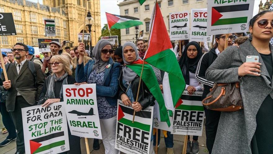 Vídeo: Británicos reciben a Netanyahu en Londres con protestas