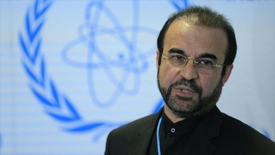 Reza Nayafi, embajador de Irán ante la Agencia Internacional de Energía Atómica (AIEA) en Viena, Austria.