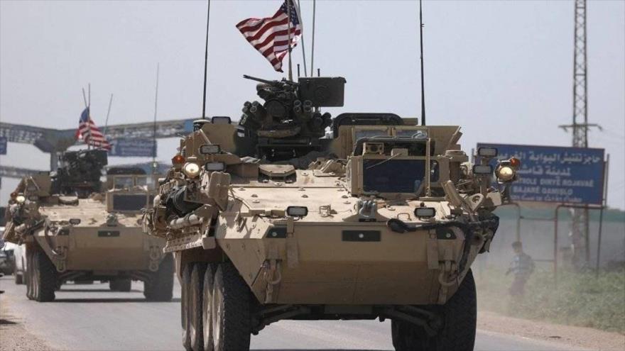 Vídeo: Ejército sirio bloquea avance de un convoy militar de EEUU