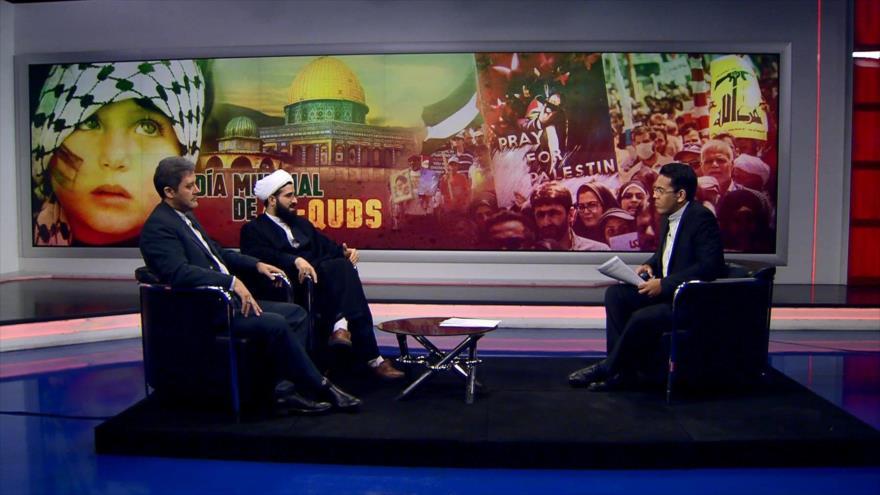 Sheij Ali Qomi y Hoyatolá Soltani: Día Mundial de Al-Quds