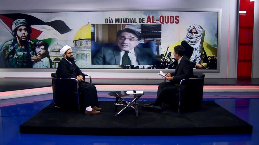 Javier Martínez y el sheij Ali Qomi analizan el Día Mundial de Al-Quds