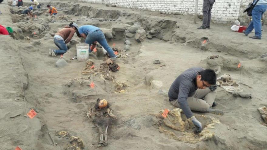 Nuevo hallazgo en Perú de niños sacrificados de la cultura chimú