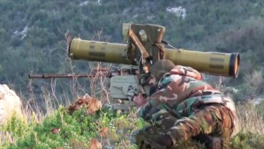 Vídeo: Ejército sirio abate a varios terroristas con un misil ATGM ruso