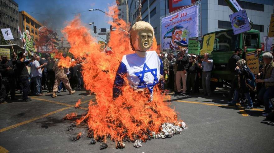 Responsable iraní: EEUU no puede garantizar continuidad de Israel