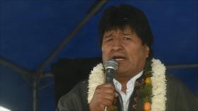 Morales condena guerra económica de EEUU contra propios aliados