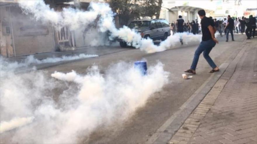 Vídeo: Fuerzas bareiníes reprimen marchas del Día Mundial de Al-Quds