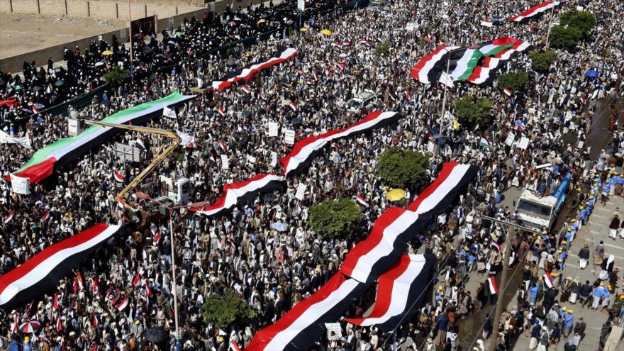 Vídeo: Miles de yemeníes conmemoran el Día Mundial de Al-Quds