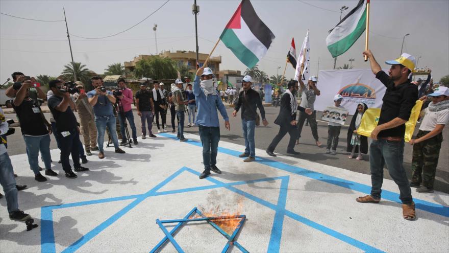 Miles de iraquíes conmemoran el Día Mundial de Al-Quds