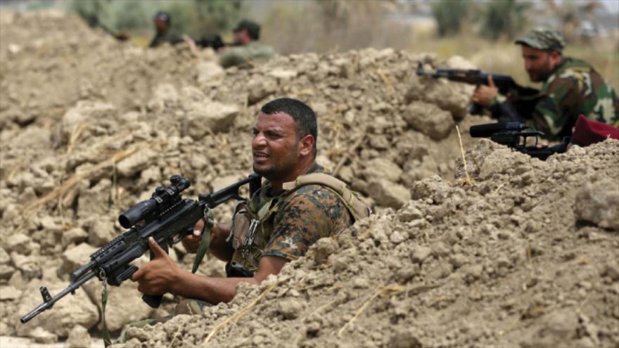 Fuerzas iraquíes abaten a varios miembros de Daesh en Siria