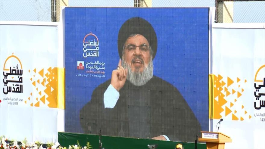 Hezbolá conmemora el Día Mundial de Al-Quds