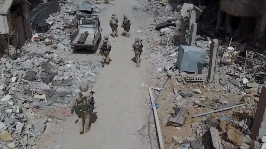 Vídeo: Fuerzas rusas patrullan Guta Oriental para garantizar seguridad