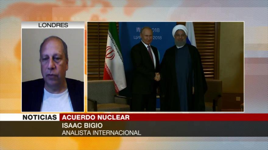 Isaac Bigio: Alianza Irán-Rusia contrarresta amenazas de EEUU
