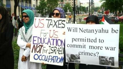 Día del compromiso con la causa palestina en EEUU