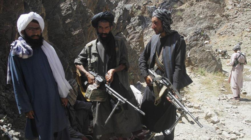 Miembros del grupo armado Talibán en la provincia de Herat, oeste de Afganistán.