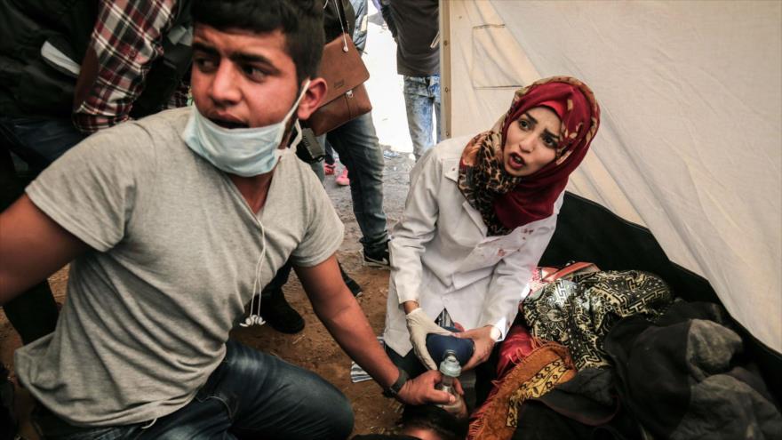 Israel crea un vídeo falso sobre asesinato de enfermera palestina