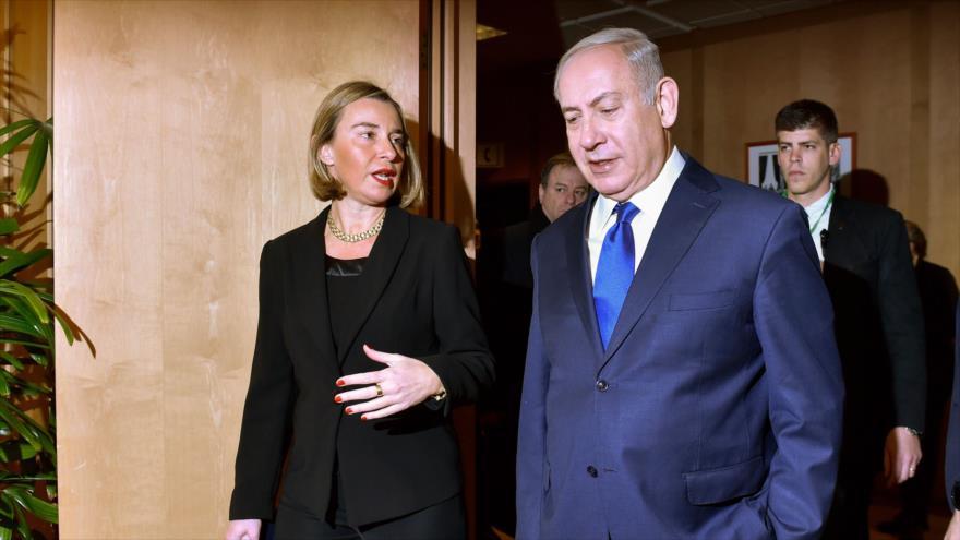 Jefa de la diplomacia europea cancela su viaje a Al-Quds