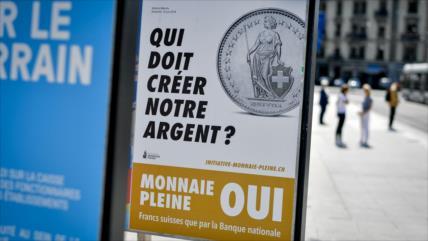 Suiza vota este domingo si prohíbe crear dinero a la banca privada