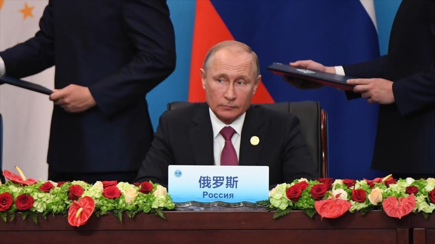Putin: Alianza Siria con Rusia, Irán y sus socios aplasta a terroristas