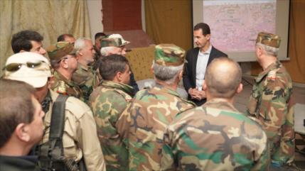 Al-Asad rechaza coordinación rusa en ataques de Israel a Siria