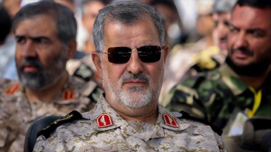 El comandante de las Fuerzas Terrestres del Cuerpo de Guardianes de la Revolución Islámica (CGRI), Mohamad Pakpur.