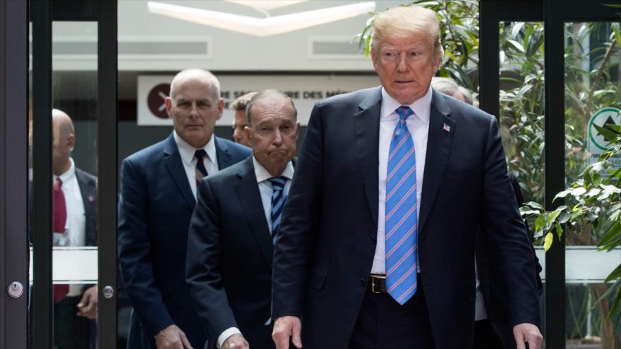 Asesor económico de Trump: Trudeau 'nos apuñaló por la espalda'