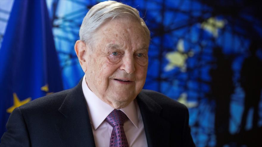 El magnate estadounidense-húngaro George Soros, Bruselas, la capital belga, 27 de abril de 2017.