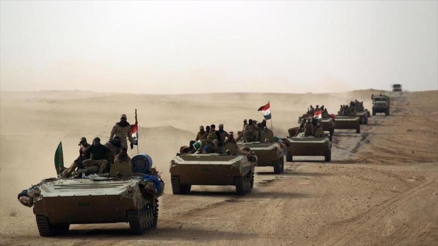 Irak manda fuerzas a frontera siria ante inminentes ataques de EIIL