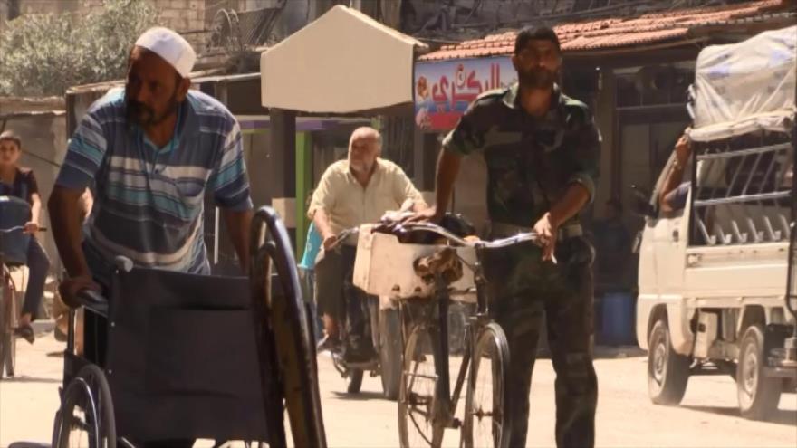 Normalidad vuelve gradualmente a localidades de Guta Oriental (Siria)