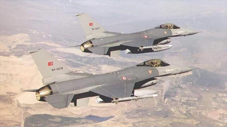 Turquía ataca posiciones del PKK dentro de Irak
