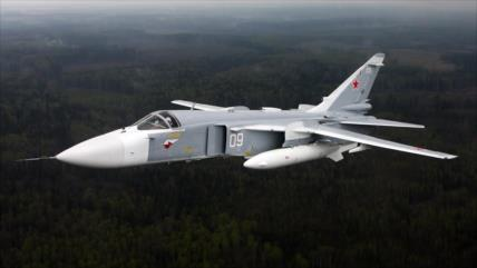 Rusia realiza maniobras en Crimea con más de 100 aeronaves