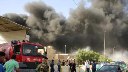 Premier iraquí tilda de 'complot' el incendio de almacén electoral