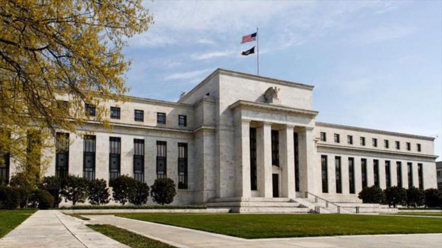 El edificio de la Reserva Federal de Estados Unidos en Washington DC.