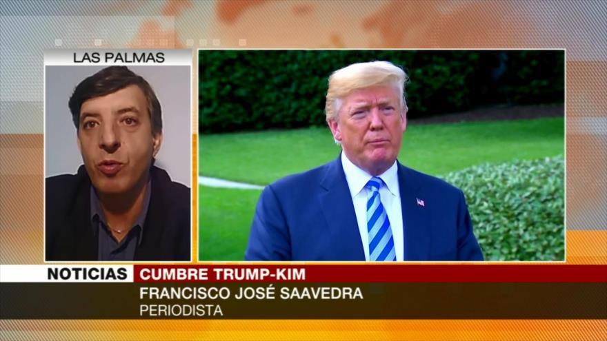José Saavedra: A Trump le importa más acuerdo con Kim que con G7