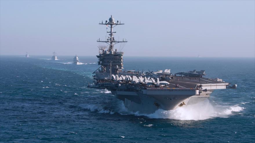 Portaviones de EEUU que atacó Siria regresa al Mediterráneo | HISPANTV