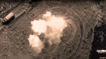 Vea cómo un dron turco bombardea centros del PKK en norte de Irak