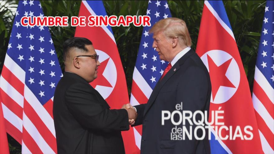 El Porqué de las Noticias: Cumbre en Singapur. Potencias en conflicto. Migrantes por rescate