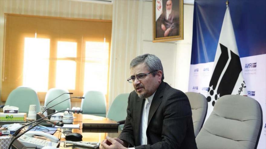 El embajador de Irán ante la ONU, Qolamali Joshru.