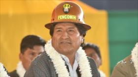 Morales reprocha a Macri el endeudamiento de Argentina con el FMI