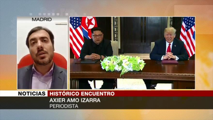 Axier Amo Izarra: Desnuclearización de Pyongyang no es aun fija