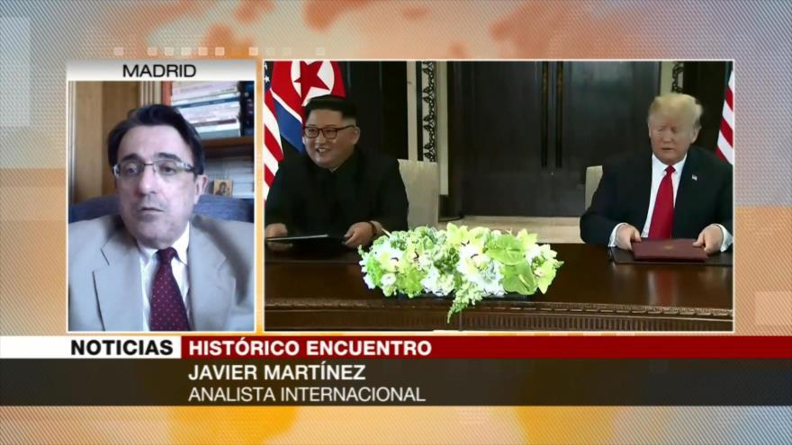 Javier Martínez: No hay garantías respecto a cumbre Trump-Kim