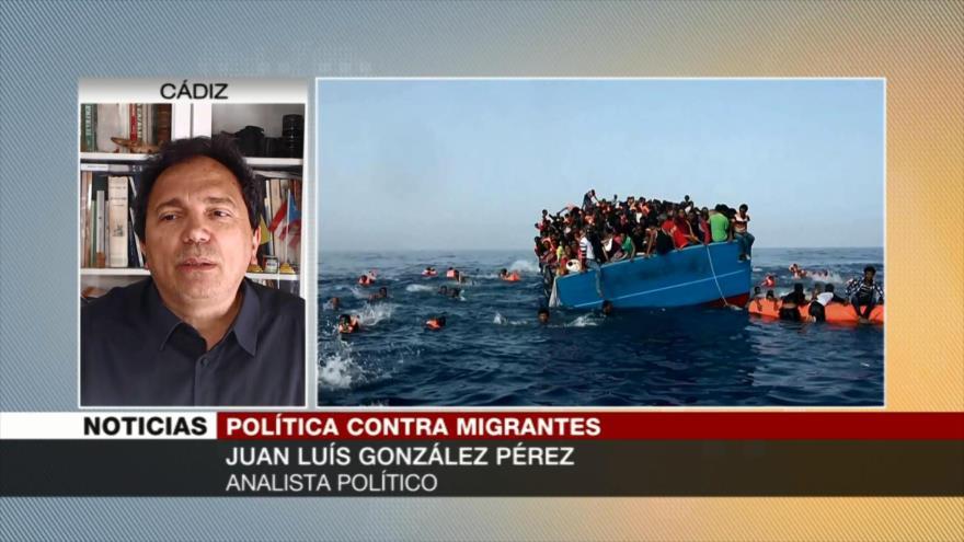 Juan Luis González: La UE no hace lo que debe en tema de migrantes