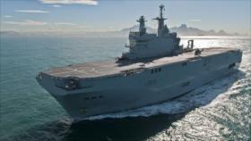 Francia reta a China con envío de buque militar a aguas en disputa