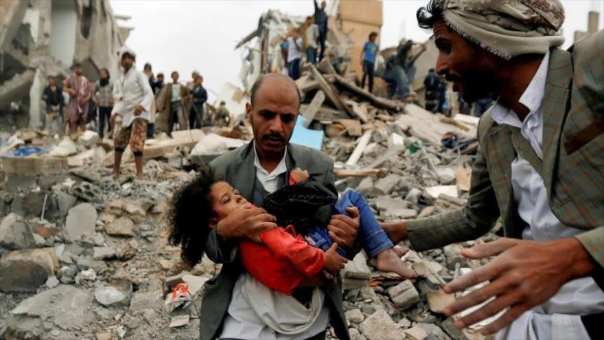 Agresión saudí a Yemen deja 11 000 muertos, incluidos 2230 niños