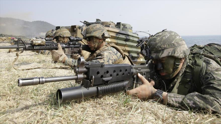 Pentágono niega orden para terminar ejercicios con Corea del Sur