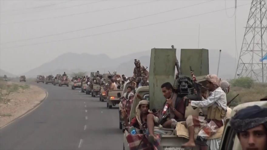 Mercenarios saudíes se preparan para nueva ofensiva en Yemen