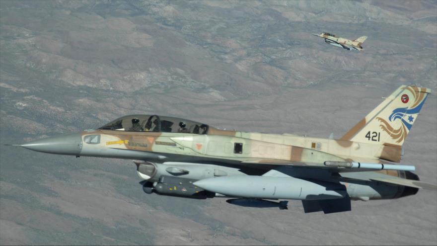 Cazas israelíes sobrevuelan a baja altitud la frontera sirio-libanesa