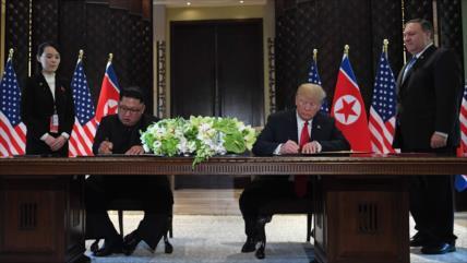 Corea del Norte: Kim y Trump acuerdan dejar las hostilidades