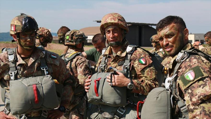 Italia se une a EEUU y Francia para destrozar Siria