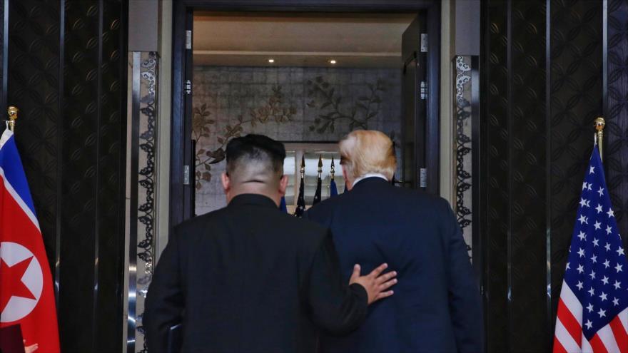 Trump: la cumbre en Singapur evitó 'una catástrofe nuclear'