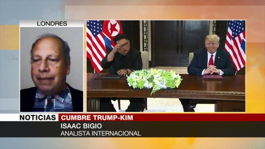 Bigio: No se ha logrado todavía nada concreto entre Trump y Kim